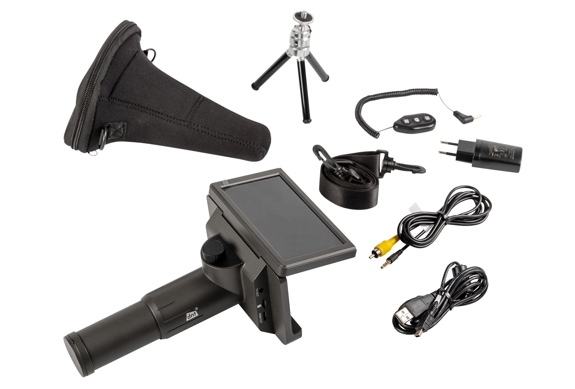 Digitales Teleskop DigiTele PRO – Lieferumfang